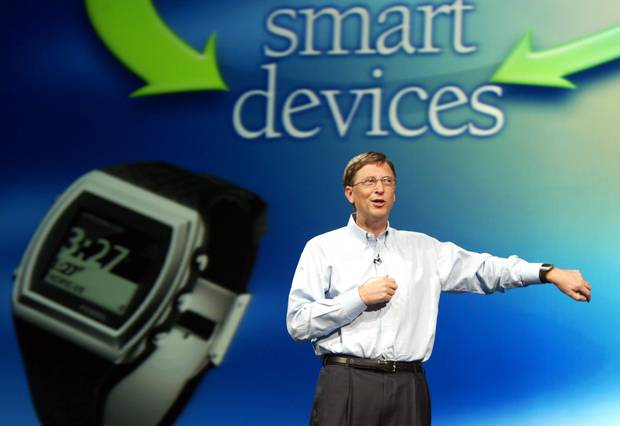 Bill Gates smart devices