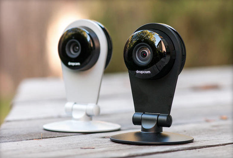 dropcam black white
